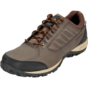 Columbia Ruckel Ridge WP Schoenen Heren, cordovan/canyon gold